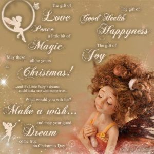 Christmas Wishes with Dreaming Fairy