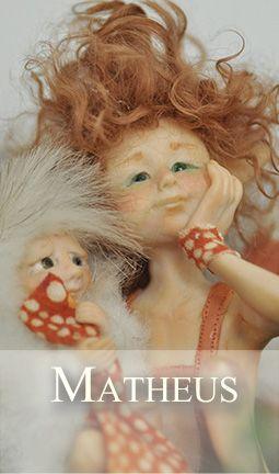 Little elfin boy with fairy puppet
