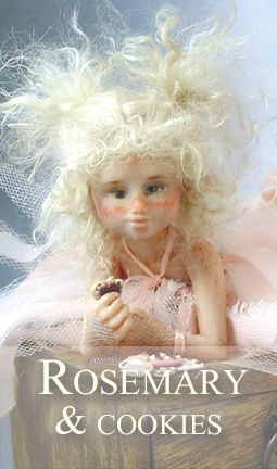 Rosemary is a pink fairy that loves cookies